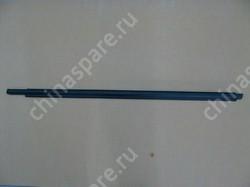 Уплотнитель стекла двери передней левой (бархотка) наружний (без хрома) f3, f3r BYD F3