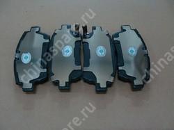 Колодки тормозные передние BYD F3