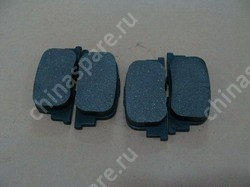 Rear friction block assy BYD F3