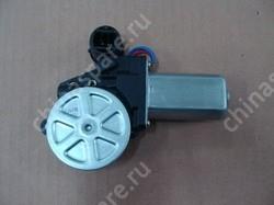 Электропривод стеклоподъемника окна правой передней двери с монтажным кронштейном в сборе BYD F3