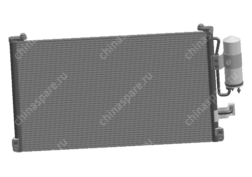 B148105010 Радиатор кондиционера Chery Cross Eastar