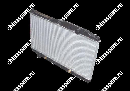 B111301110 Радиатор охлаждения (мт) разносторонние патрубки Chery Cross Eastar