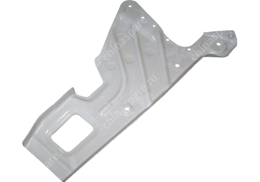 Support plate - front wheel apron rh Chery Eastar