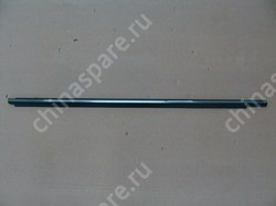 Уплотнитель стекла двери передней правой (бархотка) наружний (с хромом) f3, f3r BYD Flyer