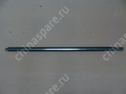 Уплотнитель стекла двери передней левой (бархотка) наружний ( с хромом) f3, f3r BYD Flyer