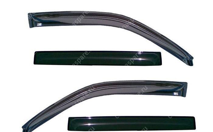 Дефлекторы на стекла (комплект) м2 Brilliance