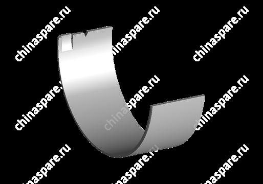 Вкладыш коренной нижний - 5 шт. (0.25) Chery Amulet