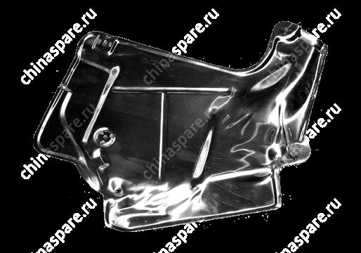Экран глушителя теплозащитн. металл. Chery Amulet