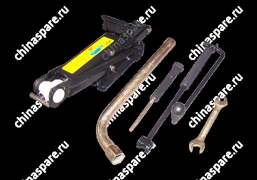 Домкрат и набор ключей Chery Amulet