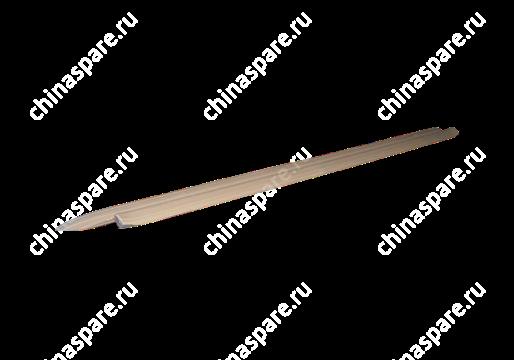 Накладка порога передняя левая бежевая Chery Amulet