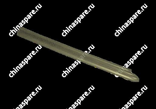 Накладка порога передняя левая темно-серая Chery Amulet