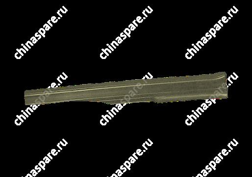 Накладка порога задняя левая темно-серая Chery Amulet