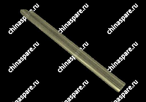 Накладка порога передняя правая темно-серая Chery Amulet