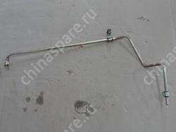 Трубка гур высокого давления от рейки к бачку f0 BYD F0