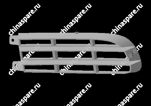 B142803117 Решетка бампера переднего левая Chery Cross Eastar